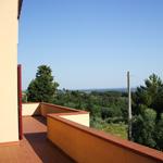 terraza villa jardin