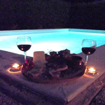 23 private swimming pool tasting italia food dishes